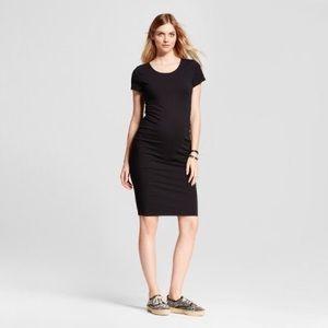 Isabel Maternity Shirred T-Shirt Dress Sz M